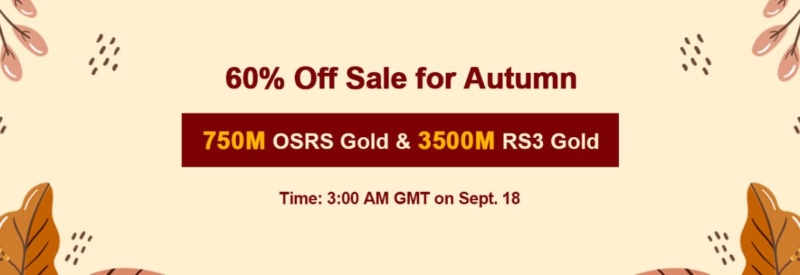 Enjoy RS Mysteria 2020 for Vairous Previous TH Promotions with 60% Off RS Gold on RSorder