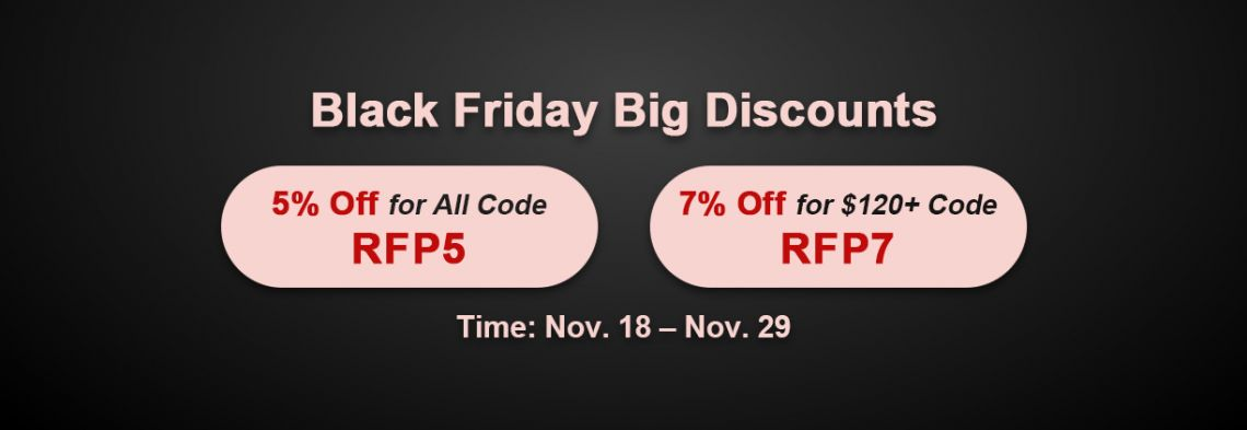 Enjoy RS Black Friday 2020 in Solomon's Store with 7% Off RS Gold for Sale on RSorder