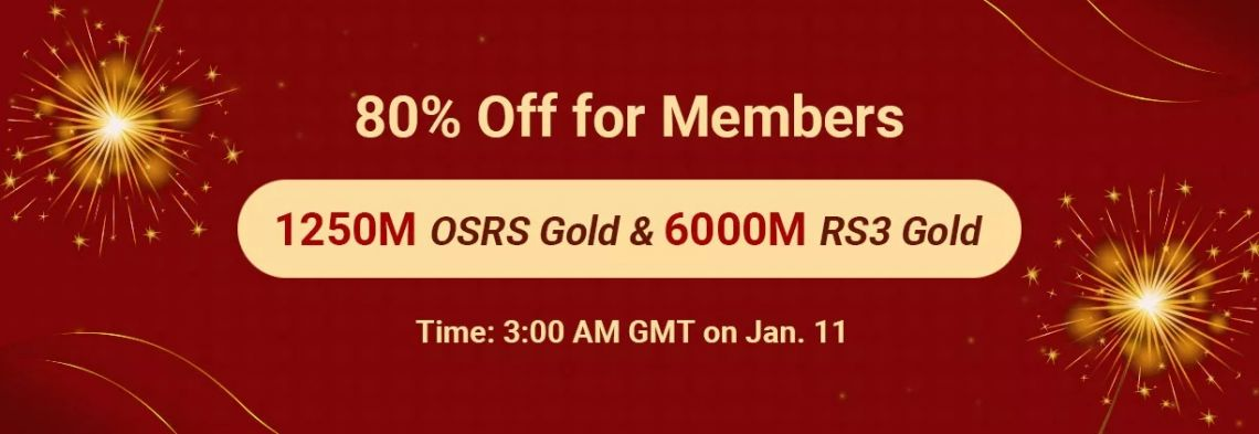 Join in RS Firework Festival TH Promo with RSorder 7% Off RS3 Gold